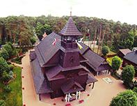 Kościół wJedlni - Letnisko