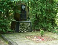 Miejsce pamięci na terenie gminy
